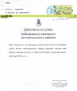 Autorizzazione Integrata Ambientale 2007