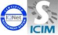 loghi IQNet e S ICIM