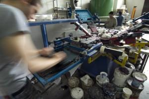 lavorazioni complementari Galvanica Consonni pulitura metalli: Serigrafia