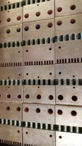 Argentura su contatti elettrici saldo brasati in rame e argento - COnsonni