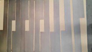 Bronzatura previo ramatura di lamiere in acciaio - Consonni