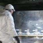 Argentatura su terminali generatore di un impianto di cogenerazione