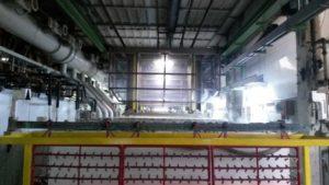 Linea galvanica automatica da tre metri - Consonni trattamenti galvanici