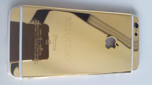 Trattamento galvanico doratura, iPhone